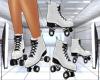 White Roller Skates