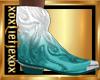 [L] AQUA White Boots M