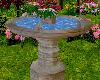 Garden Bird Bath Anim
