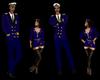 Blue Dress Commander