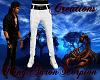 {KAS} White Jeans