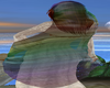 *A* Rainbow Head Veil