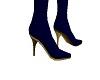 Ryl Blue Akl Heel Boots