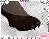[Pup] Furry Feet Blk