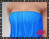B Blue coat+Bust skirt