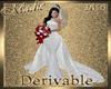 !a DRV Wh Fishtail Gown