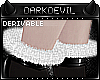 DD|evil Fur Ankle Cuffs