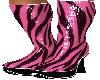 Reflect Zebra Pink Boot