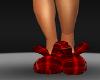 [MDF] RED PLAID SLIPPER