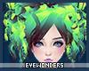 *E Vibrant Green Cyndi