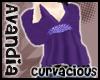 Av~Purple Bead Top (LG)