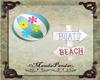 Beach Ball & Beach Post