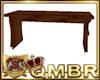 QMBR Hogwarts Bench