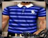 D: BlueStripe/White Polo