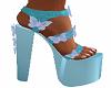 Baby Blue Doll Shoes