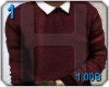 H2O| Burgundy\Sweater