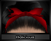 !M Do-Rag Bow Red