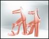 Spring Peach Heels