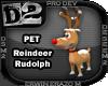 [D2] Reindeer Rudolph