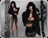 [BIR]Fur Jacket *black