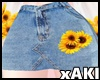 *Y* Sunflower Skirt