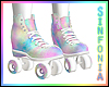 Pastel Roller Skates