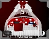 Kids Red Crib