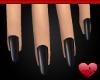 Mm Black Succubus Nails