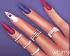 Babygirl Nails Rings