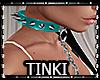 Anim Chain Choker Teal