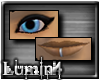 [*L] Black Eyes/Lip Ring