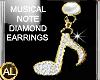 DIAMOND MUSICAL NOTE