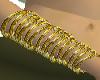 15 Gold bangles