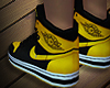 Air Jordan 1's Yellow