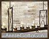 Rustic Hanging Candles