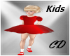 CD Party Red Dress Kids