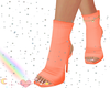 babygirl peach heels