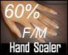 [Z]Hand Scaler 60% M/F