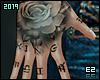 Ez| Hand Tattoos