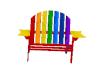 Striped Patio Chair