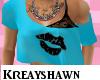 KS* Kiss Top Blue