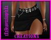 Black Skirt W/Belt