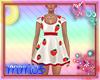 Miss Strawberry Dress M