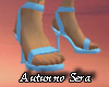 Aqua Spike Heels