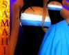 {S} Bee Dress Blue