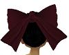 Maroon Bow