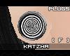 .K Twirl2 Plugs |F