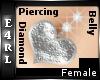 E: Heart Belly Piercing