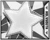 HY|Star Earings White