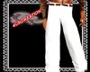 White Grooms Pants